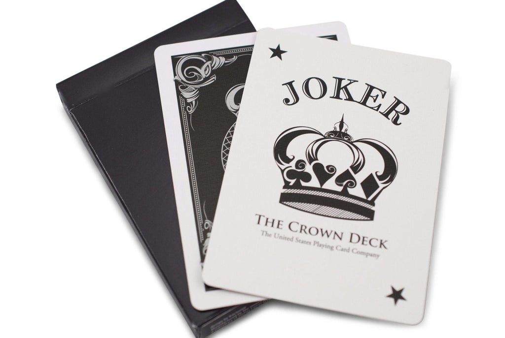 Black Crown Playing Cards - RarePlayingCards.com - 9