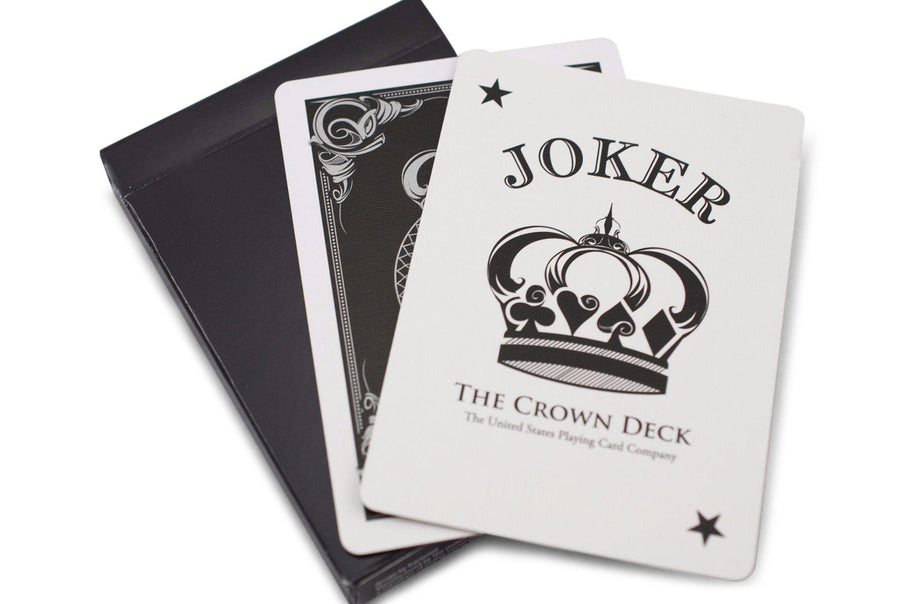 Black Crown Playing Cards by The Blue Crown