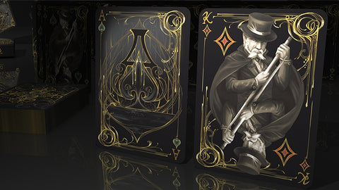 Black Exquisite Special Players Edition Playing Cards by US Playing Card Co.