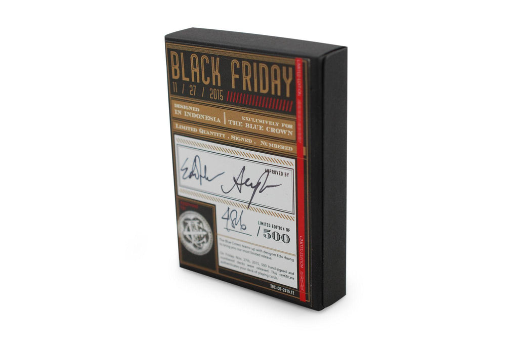 Black Friday Playing Cards - RarePlayingCards.com - 2