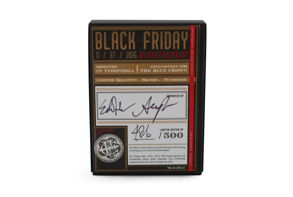 Black Friday Playing Cards - RarePlayingCards.com - 3