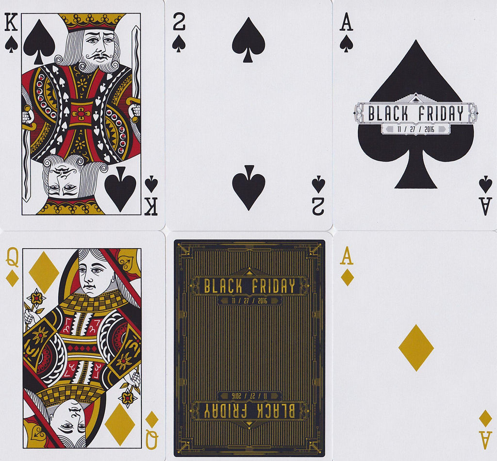 Black Friday Playing Cards by The Blue Crown