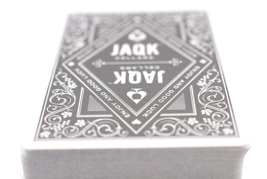 Black JAQK Playing Cards by Theory11