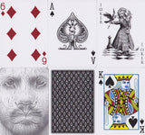 Black Lions Playing Cards by David Blaine