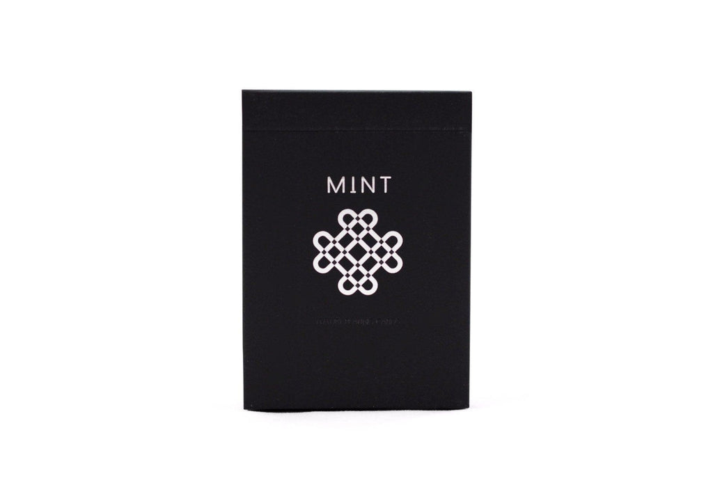 Black Mint Playing Cards - RarePlayingCards.com - 2