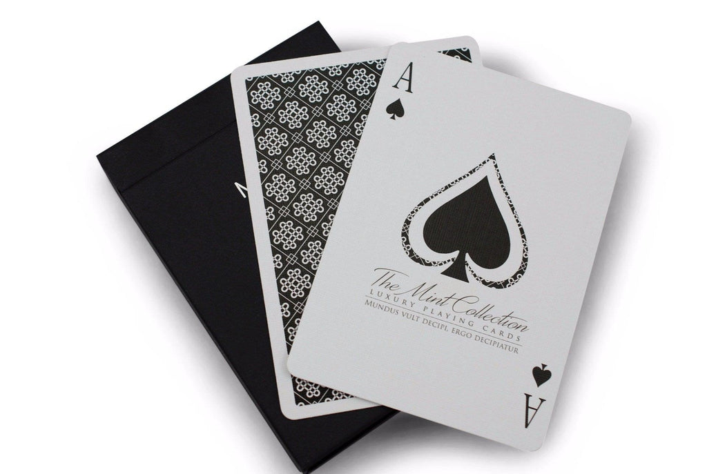 Black Mint Playing Cards - RarePlayingCards.com - 8