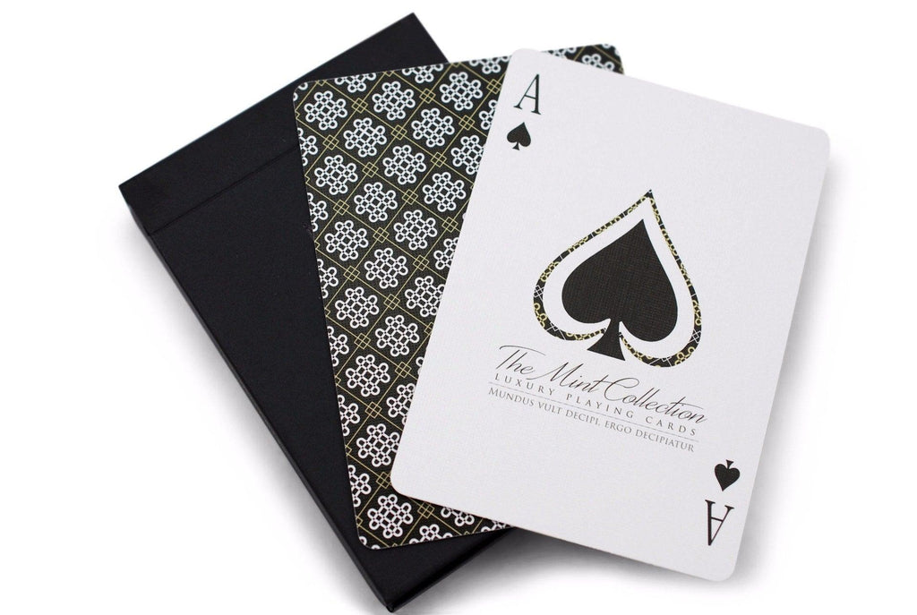 Black Mint: Limited Edition Playing Cards - RarePlayingCards.com - 7