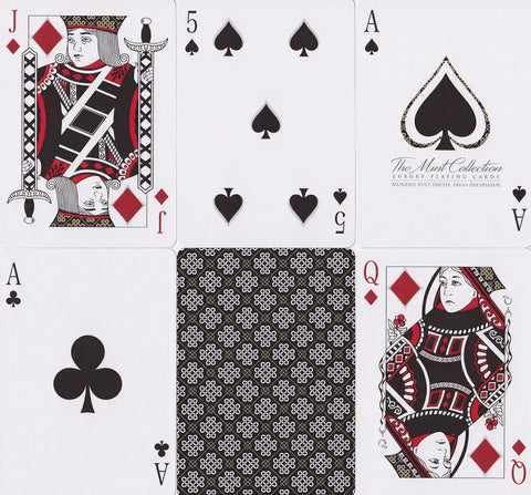 Black Mint: Limited Edition Playing Cards - RarePlayingCards.com - 1