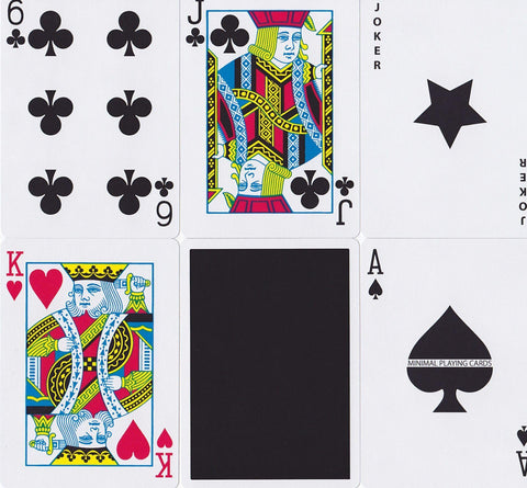 Black NOC V3S Playing Cards by The Blue Crown