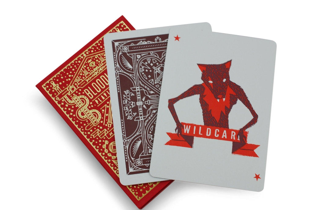 Bloodlines Playing Cards - RarePlayingCards.com - 7