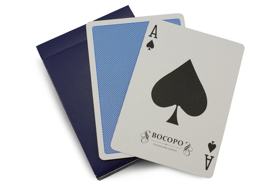 Blue Steel Playing Cards by Bocopo Playing Card Co.