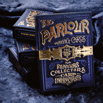 Parlour Playing Cards - Blue Stockholm 17