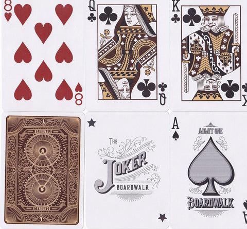 Boardwalk Papers Playing Cards by The Blue Crown