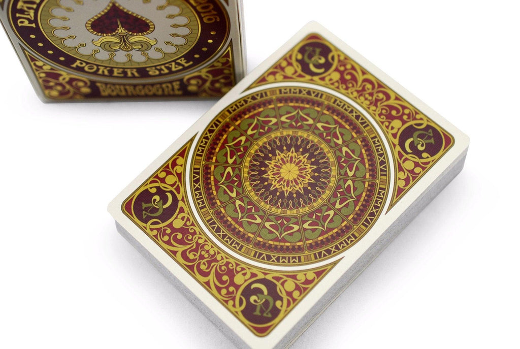 Bourgogne Playing Cards - RarePlayingCards.com - 1