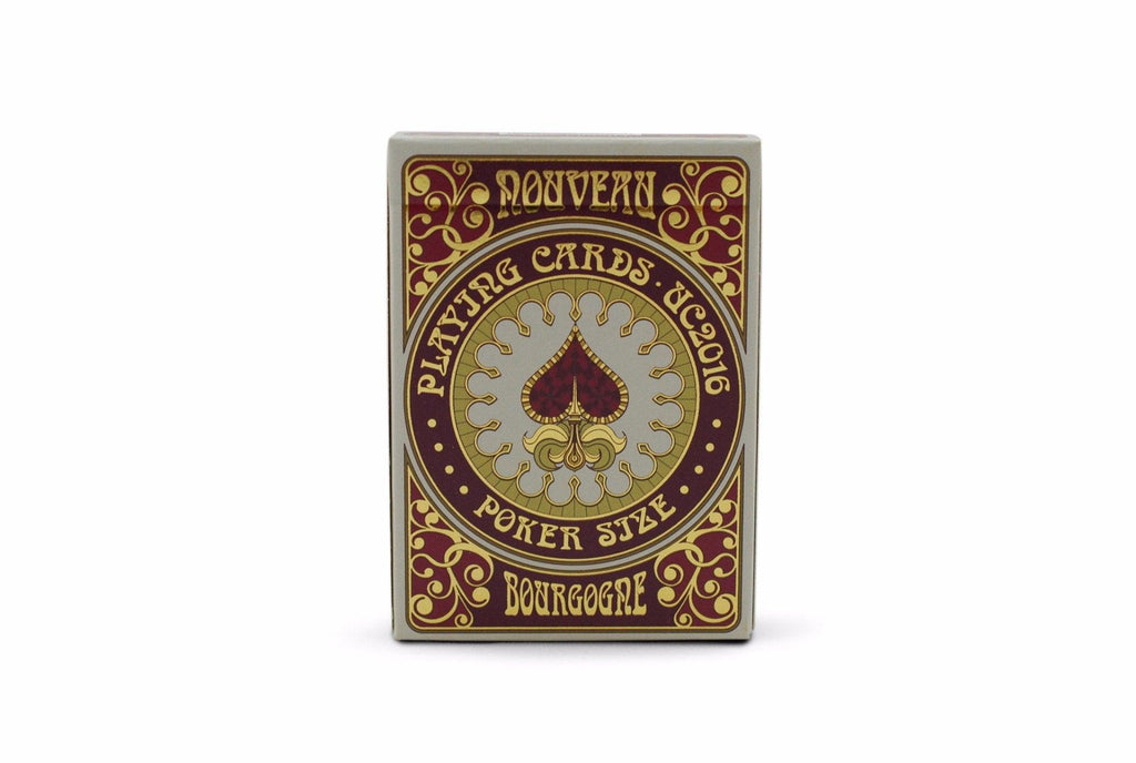 Bourgogne Playing Cards - RarePlayingCards.com - 2