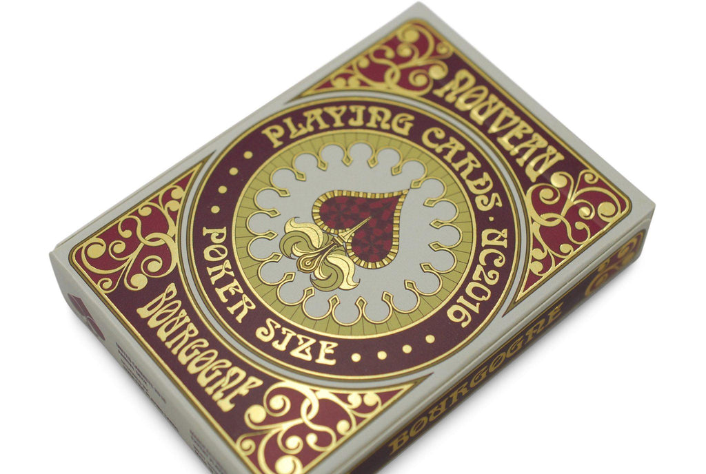 Bourgogne Playing Cards - RarePlayingCards.com - 4