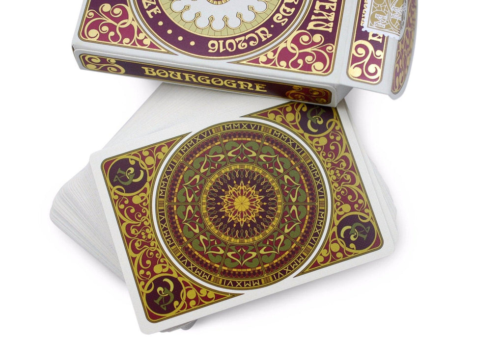 Bourgogne Playing Cards - RarePlayingCards.com - 6