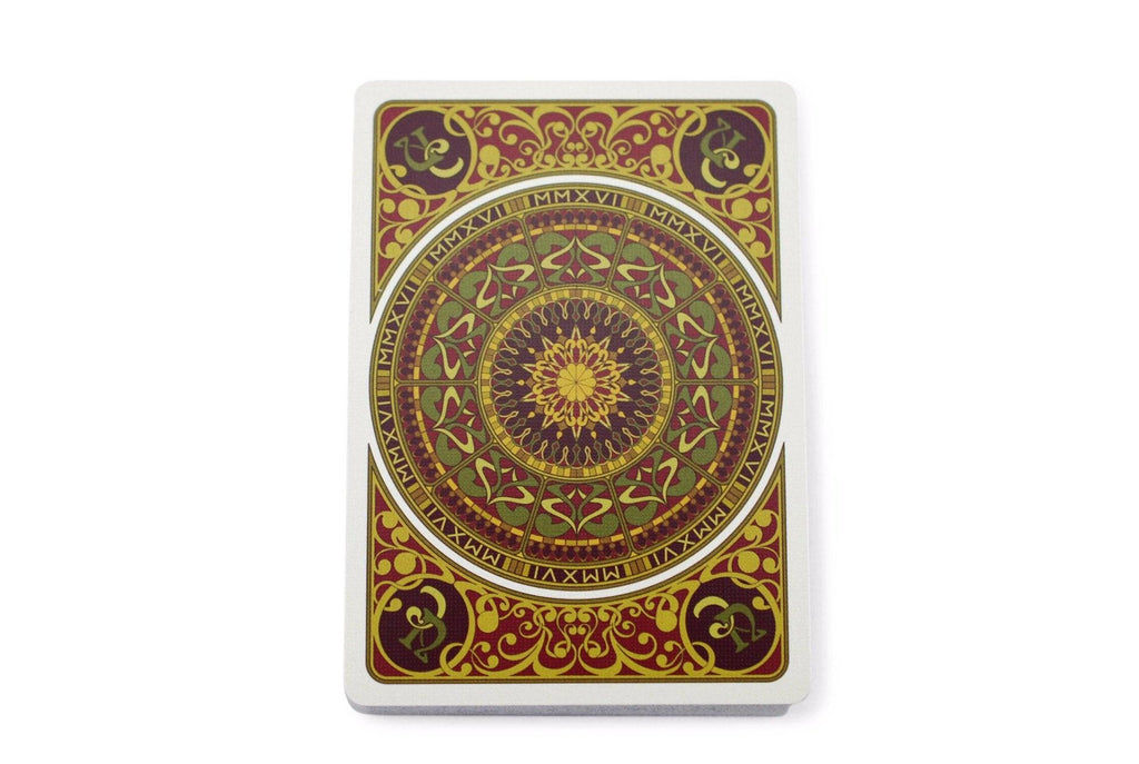 Bourgogne Playing Cards - RarePlayingCards.com - 7