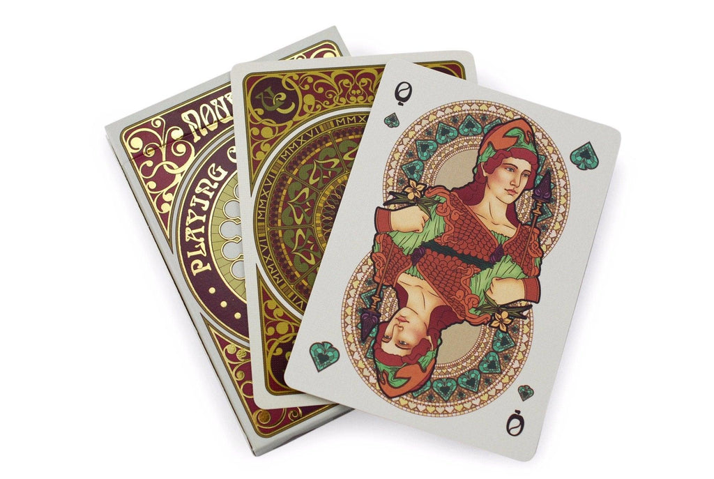 Bourgogne Playing Cards - RarePlayingCards.com - 8