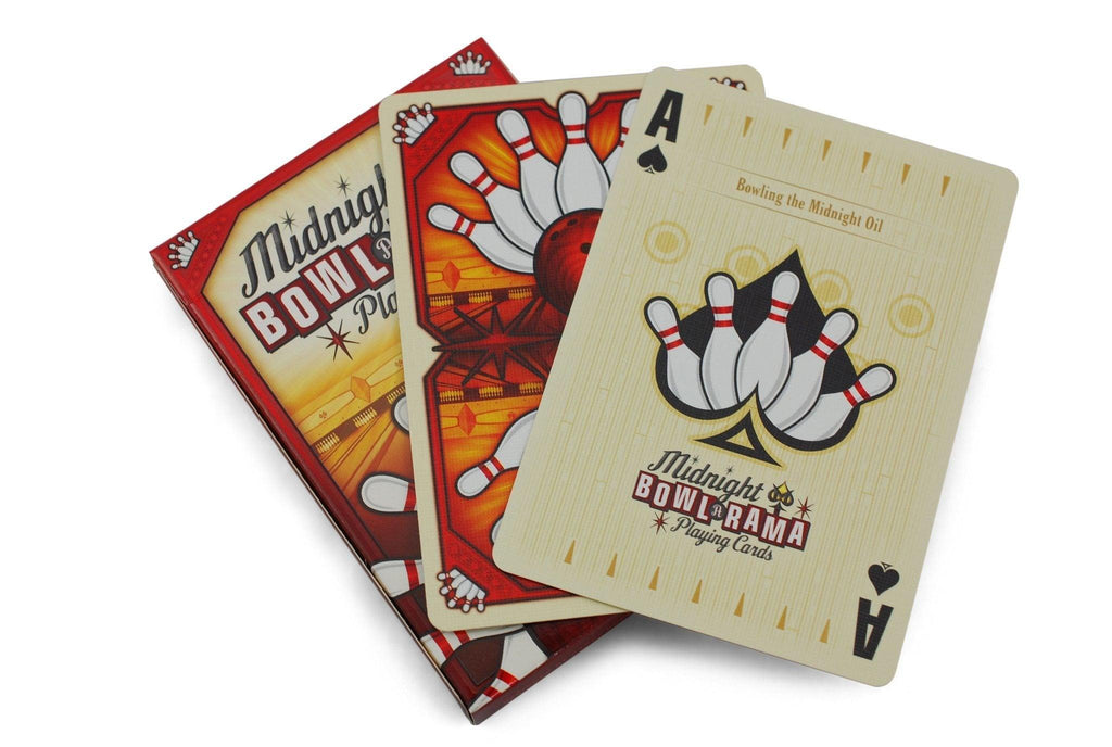 Bowl-A-Rama Playing Cards by Midnight Cards