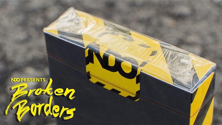 Broken Borders Playing Cards by New Deck Order