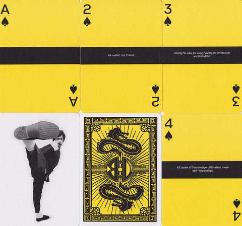 Bruce Lee Playing Cards - RarePlayingCards.com - 1