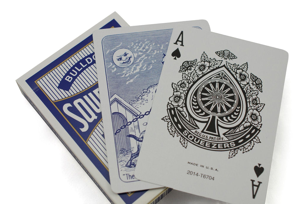 Bulldog Squeezers® Playing Cards - RarePlayingCards.com - 9