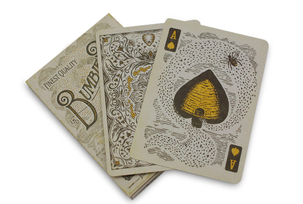 Bumblebee Playing Cards - RarePlayingCards.com - 6