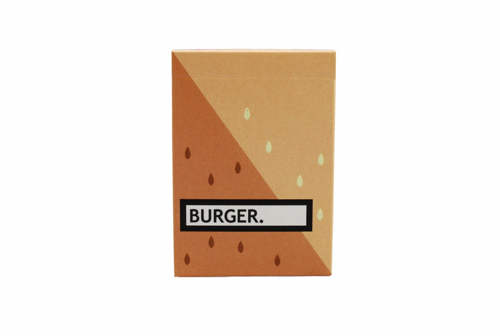 Burger Deck Playing Cards by Flaminko