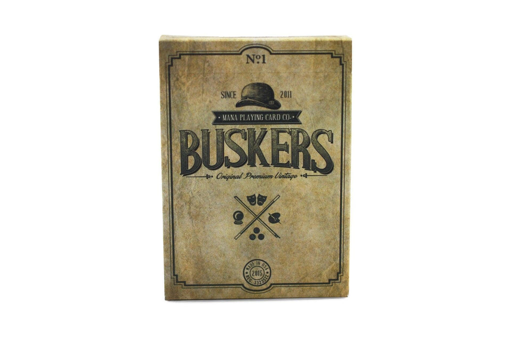 Buskers Playing Cards by Mana Playing Card Co.