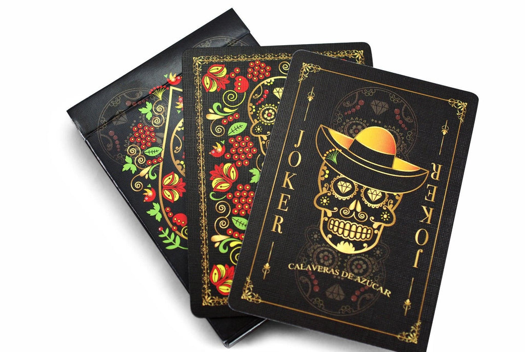 Calaveras de Azúcar Playing Cards