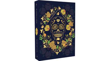 Calaveras de Azúcar Blue Edition Playing Cards by US Playing Card Co.