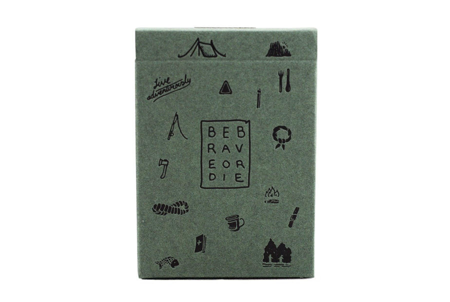 Camp Cards, Ranger Ed. Playing Cards by Art of Play