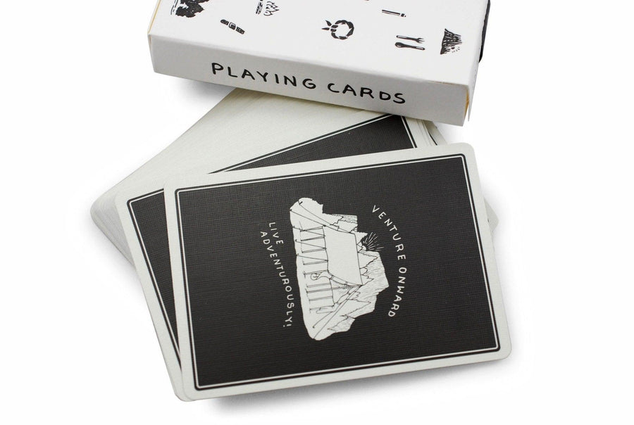 Camp Cards, Winter Ed. Playing Cards by Dan & Dave