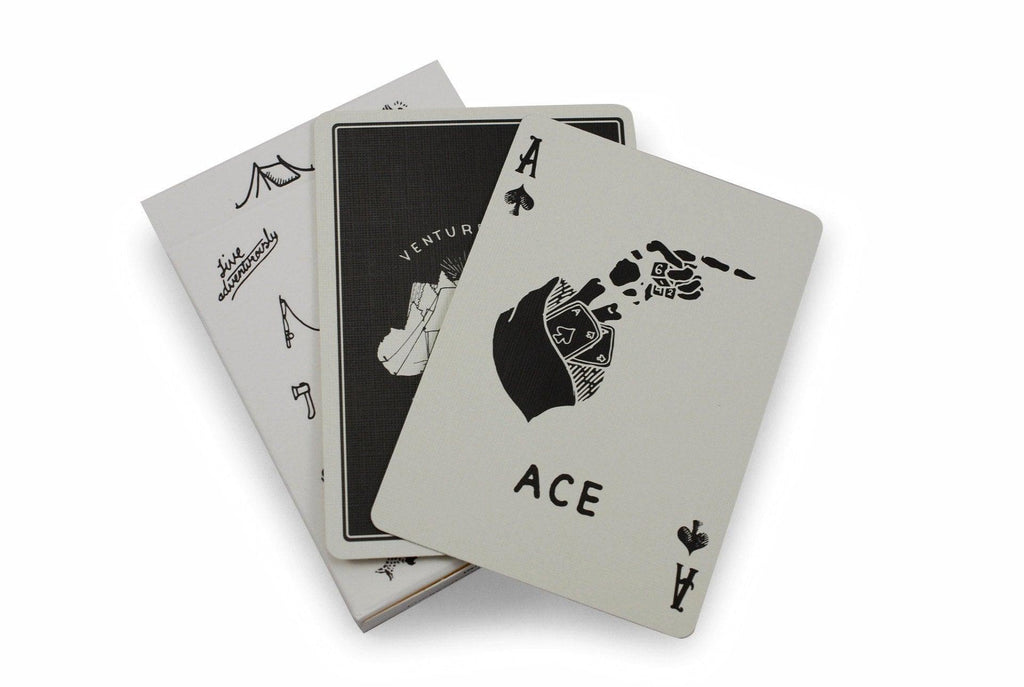 Camp Cards, Winter Ed. Playing Cards