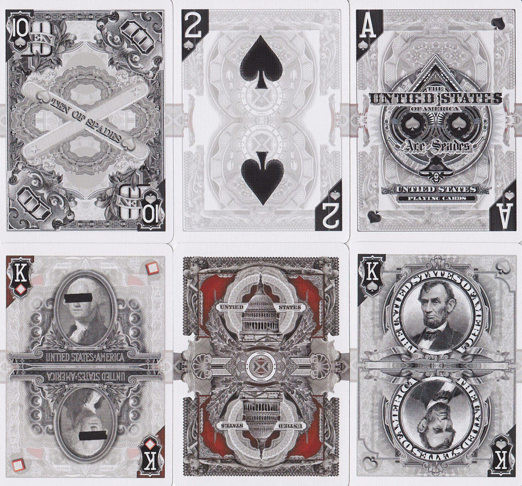 Capitalists Playing Cards - RarePlayingCards.com - 10
