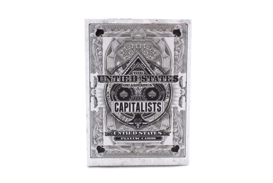 Capitalists Playing Cards by Ember Waves
