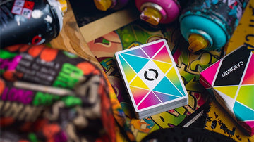 Cardistry Color Playing Cards by Bocopo Playing Card Co.