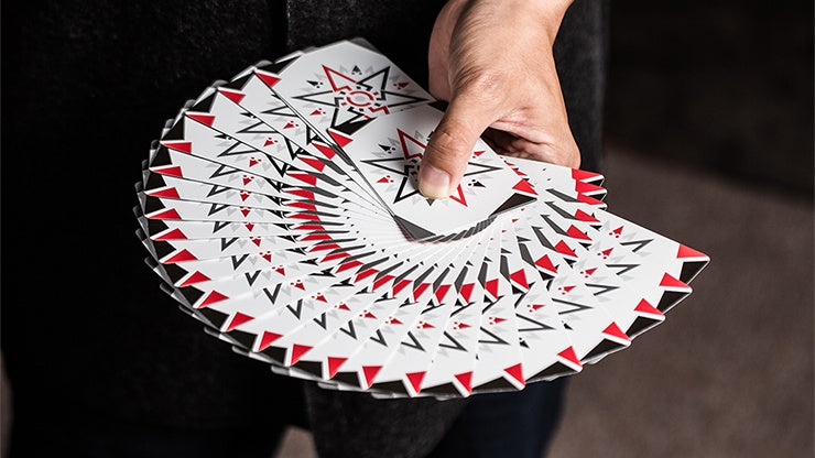 Cardistry Fanning (White) Playing Cards by US Playing Card Co.