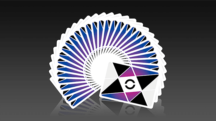 Cardistry Purple (1st Edition) Playing Cards by The Virts