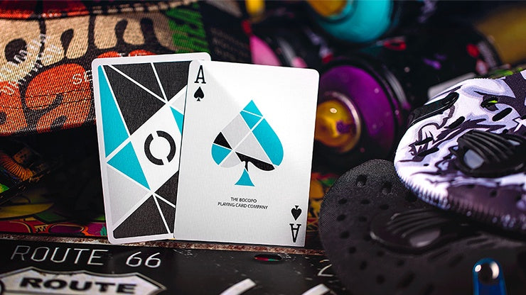 Cardistry Turquoise Playing Cards by US Playing Card Co.