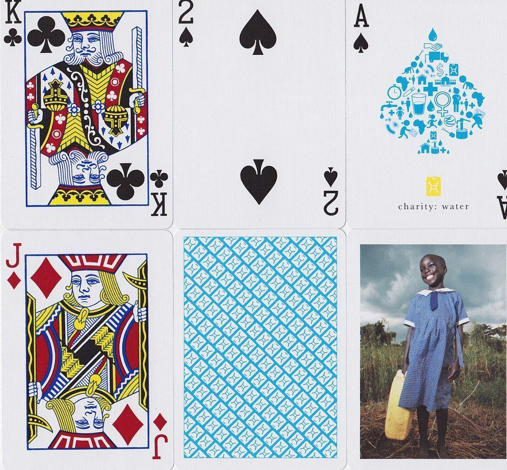 Charity: Water Playing Cards - RarePlayingCards.com - 8