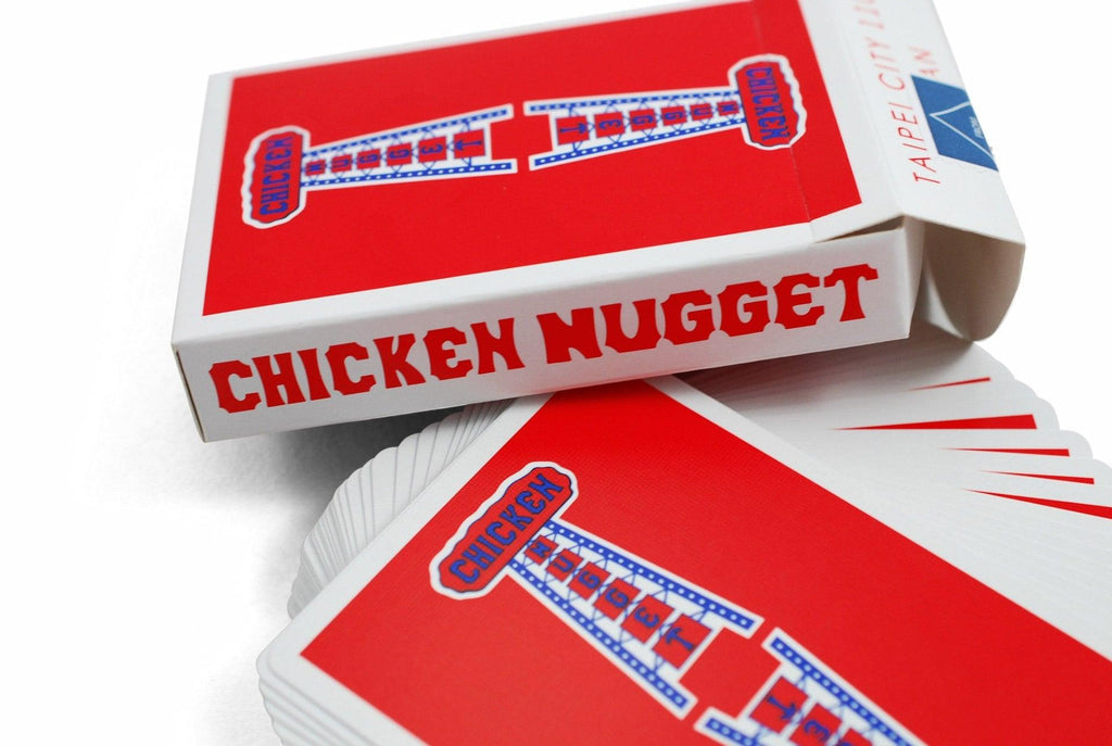 Chicken Nugget Playing Cards by HCPC