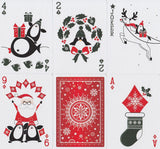 Christmas Deck Playing Cards by Penguin Magic