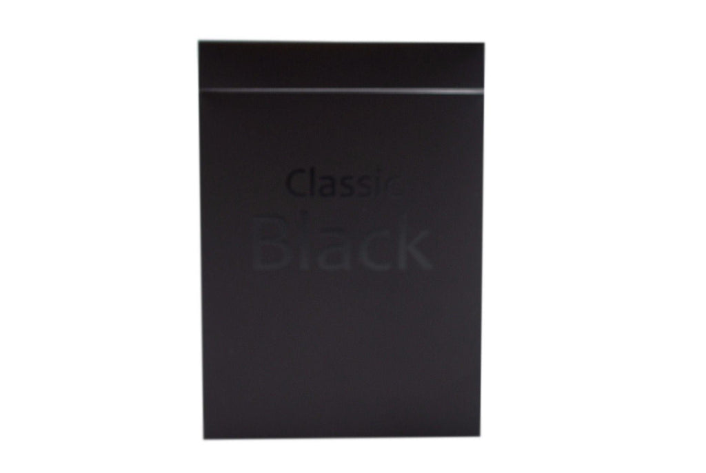 Classic Black Playing Cards - RarePlayingCards.com - 2