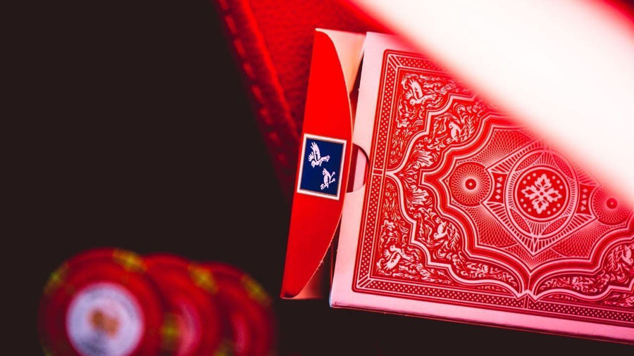 Cohorts Red Playing Cards by Ellusionist