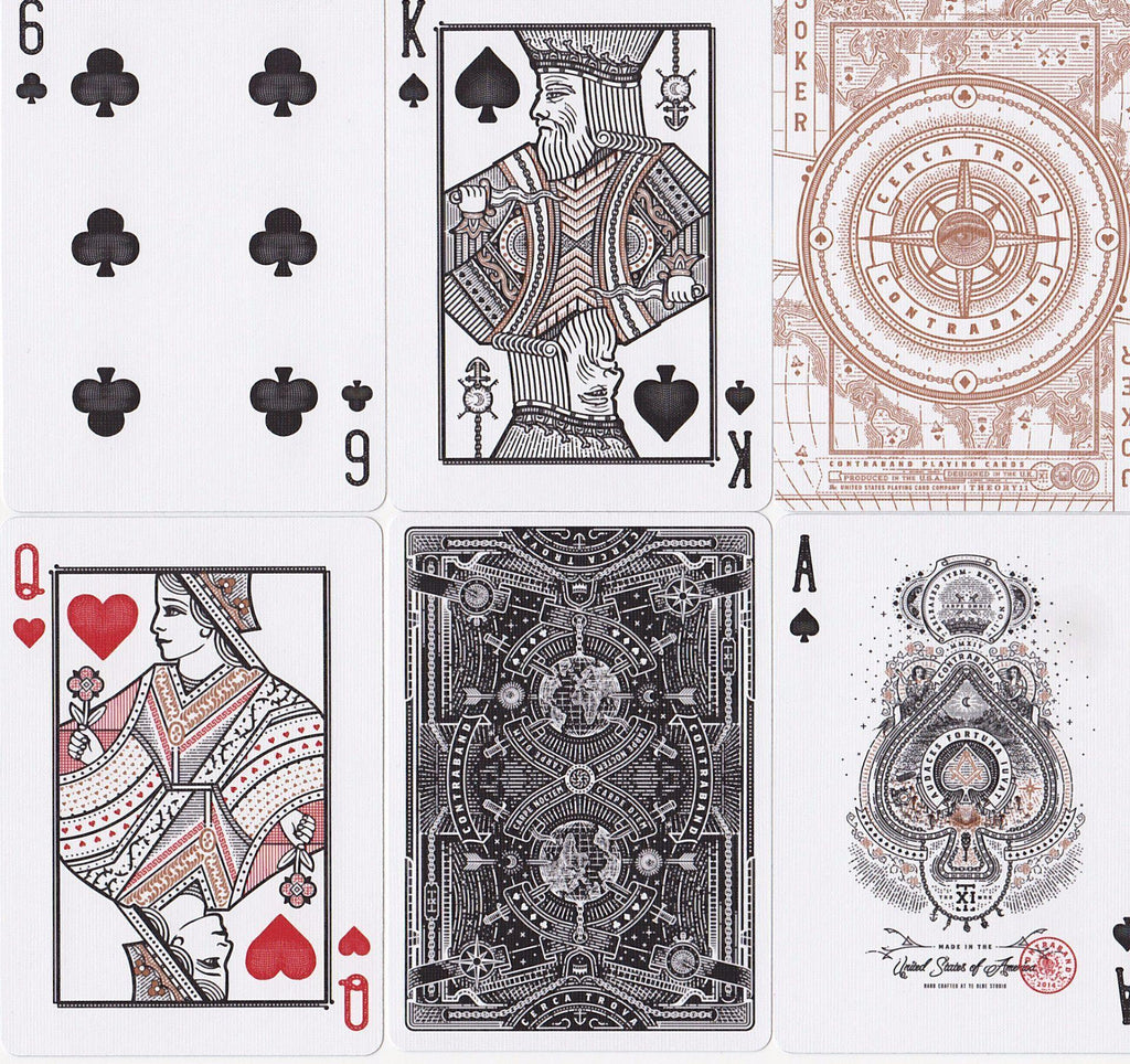 Contraband Playing Cards - RarePlayingCards.com - 8