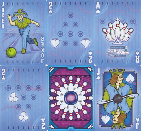 Cosmic Lanes Playing Cards