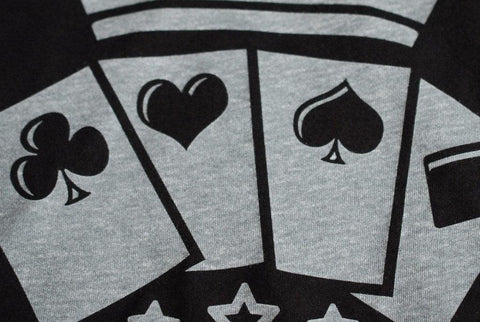 RPC Official T-Shirt Playing Cards - RarePlayingCards.com - 1