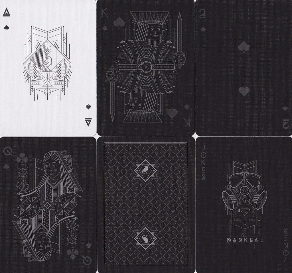 Darkfall Playing Cards - RarePlayingCards.com - 9